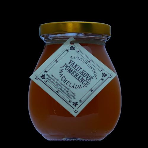 Vanilkový pomeranč marmeláda
